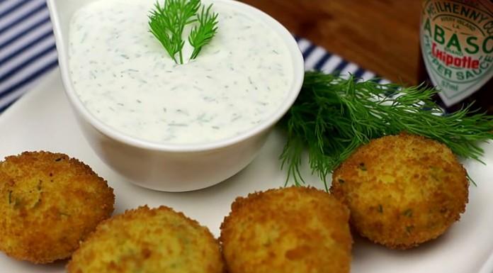 Картофельные крокеты с соусом TABASCO Chipotle