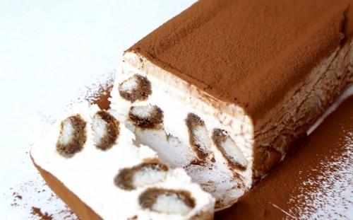 Нарезаем морожено