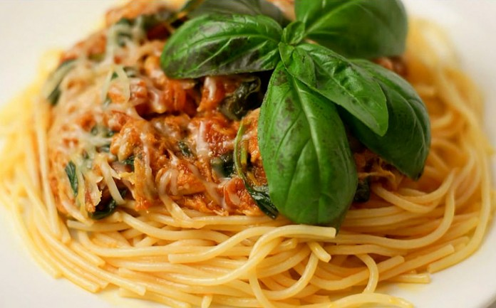 Быстрый соус для спагетти