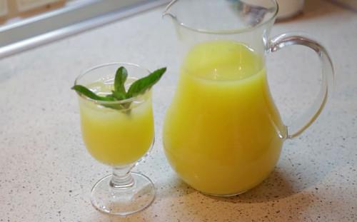 Домашний лимонад готов
