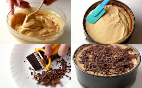 Посыпаем шоколадом