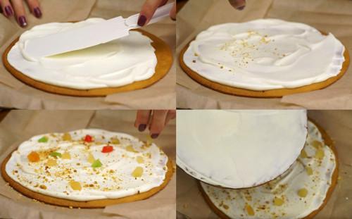 Складываем торт