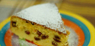Лимонный кекс в мультиварке