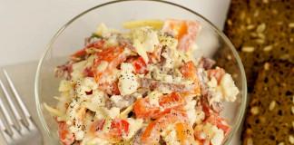Рецепт салата из цветной капусты