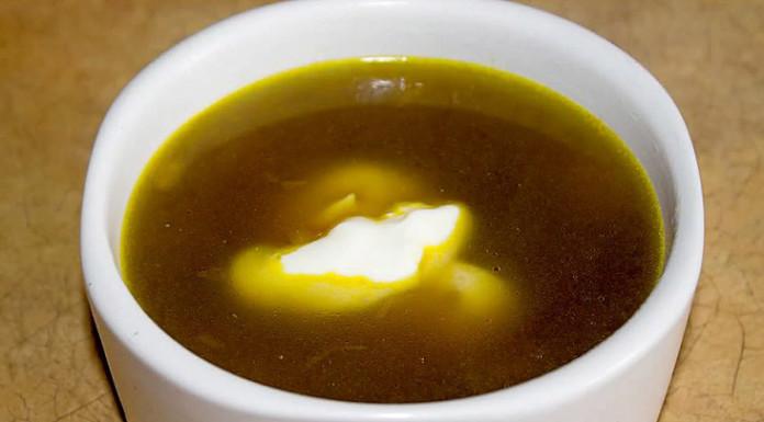 Оригинальный грибной суп из сушеных грибов и гречки