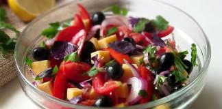 Легкий салат Гармония