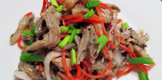 Маринованные грибы по-корейски